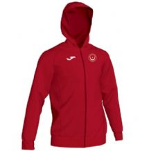 Drogheda & District Athletic Club Joma Menfi Full Zip Hoodie Red Youth 2020